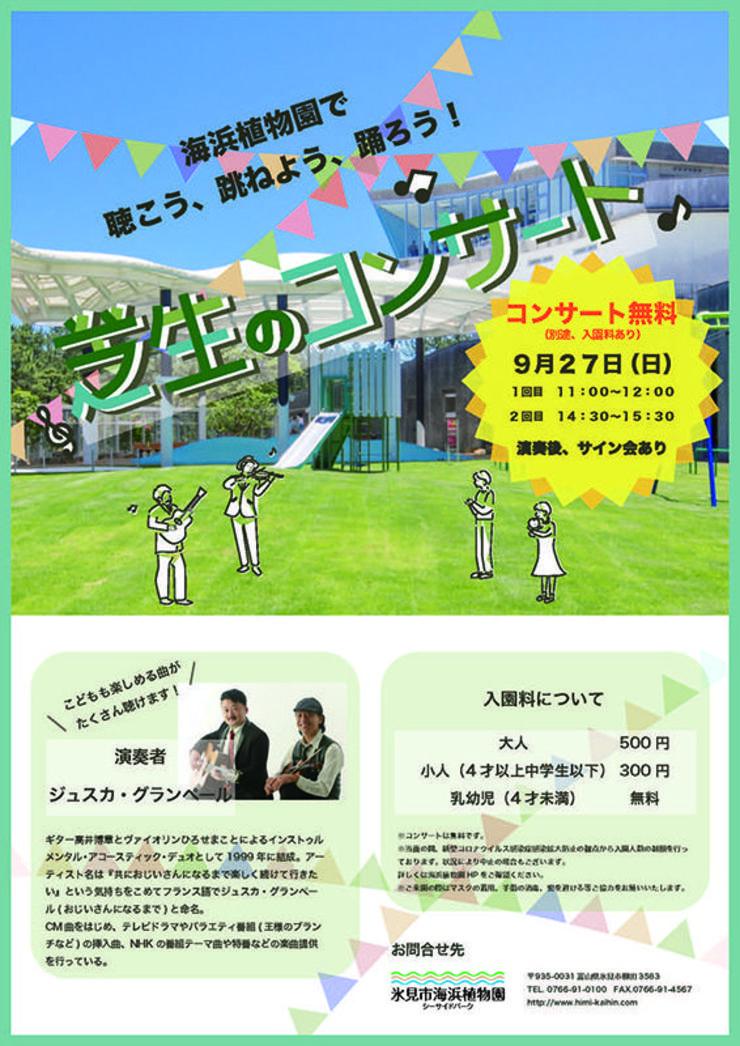芝生のコンサート